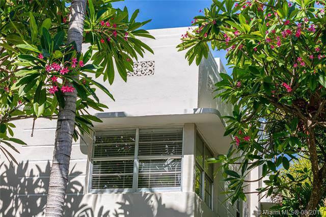 1551 Meridian Ave #102, Miami Beach, FL 33139 (MLS #A10718685) :: Grove Properties
