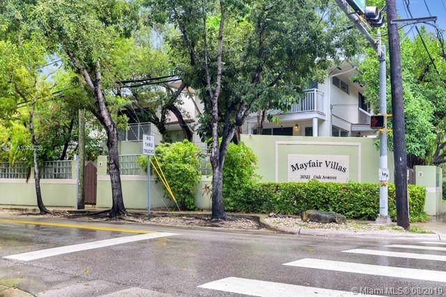 3021 Oak Ave #6, Miami, FL 33133 (MLS #A10718736) :: Prestige Realty Group