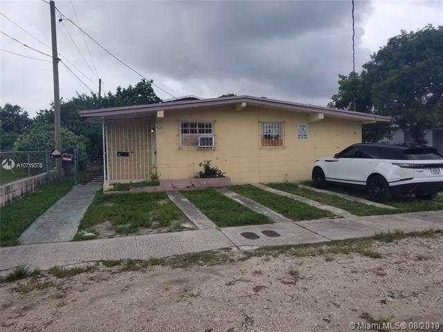 768 NW 35th St, Miami, FL 33127 (MLS #A10719378) :: The Kurz Team