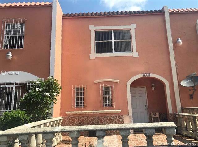 16960 NW 55th Ave C-6, Miami Gardens, FL 33055 (MLS #A10719904) :: Berkshire Hathaway HomeServices EWM Realty