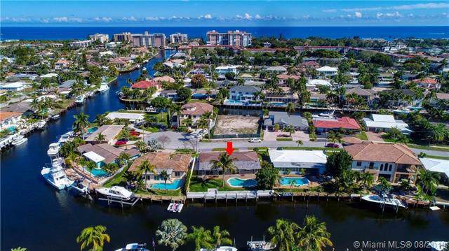 4921 NE 27th Ter, Lighthouse Point, FL 33064 (MLS #A10719932) :: Ray De Leon with One Sotheby's International Realty