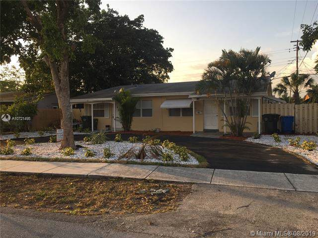 271 NE 57th Ct, Oakland Park, FL 33334 (MLS #A10721495) :: Ray De Leon with One Sotheby's International Realty