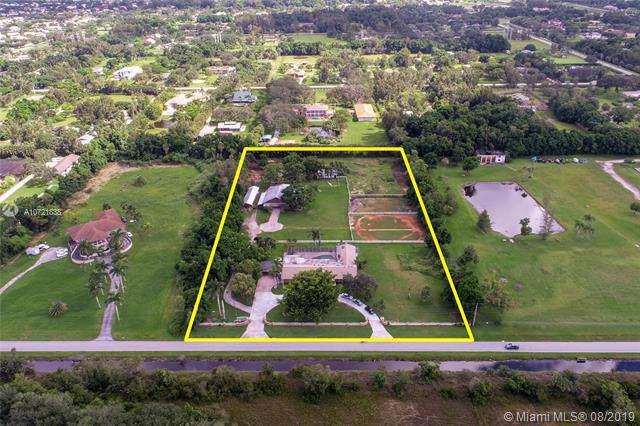 14421 Old Sheridan St, Southwest Ranches, FL 33330 (MLS #A10721838) :: The Teri Arbogast Team at Keller Williams Partners SW