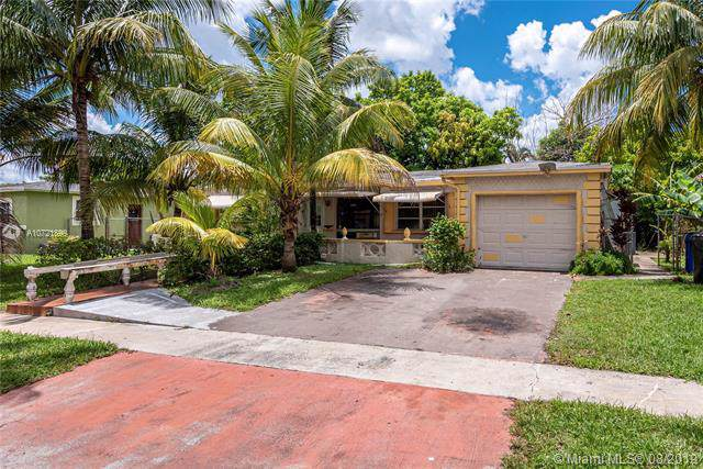 3937 NW 35th Ave, Lauderdale Lakes, FL 33309 (MLS #A10721899) :: The Paiz Group