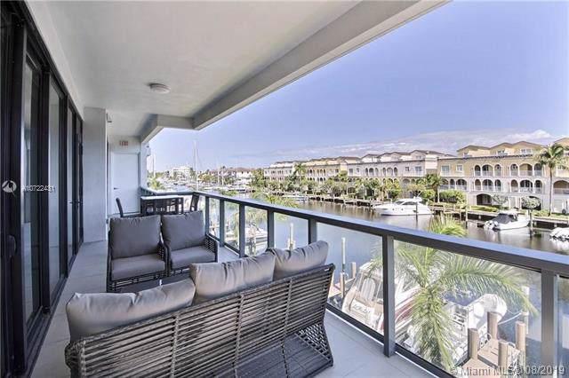 60 Hendricks Isle #301, Fort Lauderdale, FL 33301 (MLS #A10722431) :: Berkshire Hathaway HomeServices EWM Realty