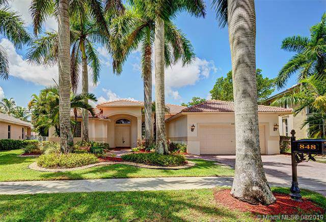 848 Marina Drive, Weston, FL 33327 (MLS #A10722484) :: Berkshire Hathaway HomeServices EWM Realty