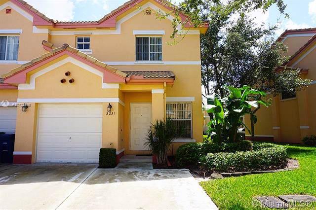 2231 SW 87th Way #2231, Miramar, FL 33025 (MLS #A10722496) :: Green Realty Properties