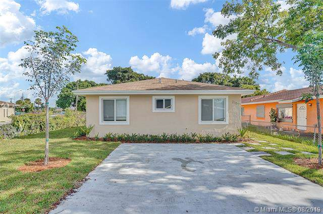 2157 NW 64th St, Miami, FL 33147 (MLS #A10722549) :: GK Realty Group LLC
