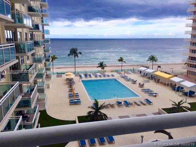 3900 Galt Ocean Dr #505, Fort Lauderdale, FL 33308 (MLS #A10722620) :: The Paiz Group