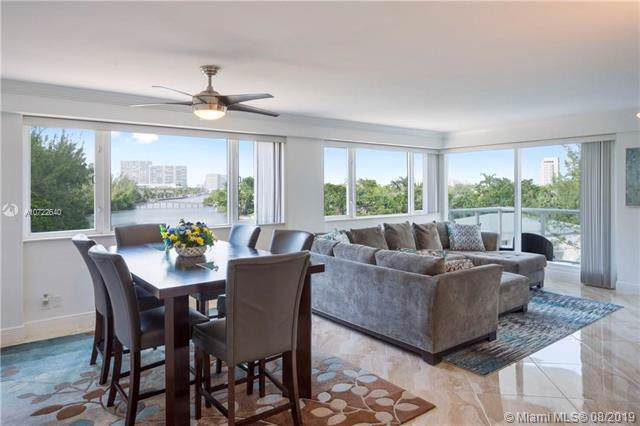 3000 Holiday Dr #504, Fort Lauderdale, FL 33316 (MLS #A10722640) :: The Howland Group