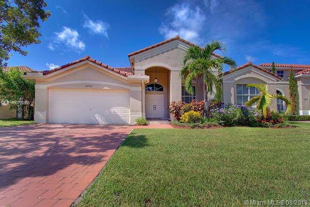 16760 SW 38th St, Miramar, FL 33027 (MLS #A10722855) :: The Jack Coden Group