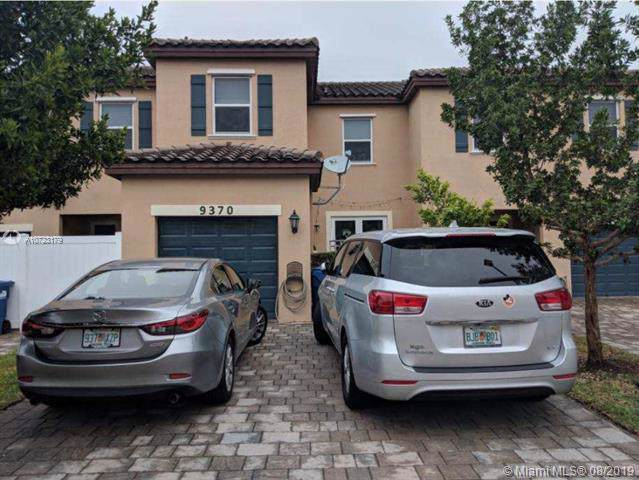 9370 SW 171st Ct #9370, Kendall, FL 33196 (MLS #A10723179) :: The Erice Group