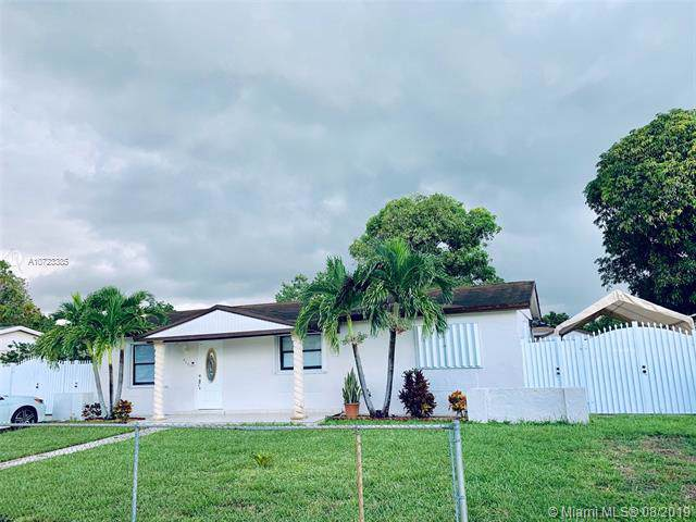 4301 NW 196th St, Miami Gardens, FL 33055 (MLS #A10723385) :: Lucido Global