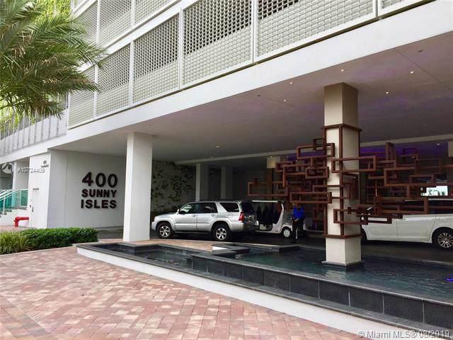 400 Sunny Isles Blvd. #1618, Sunny Isles Beach, FL 33160 (MLS #A10724409) :: Lucido Global