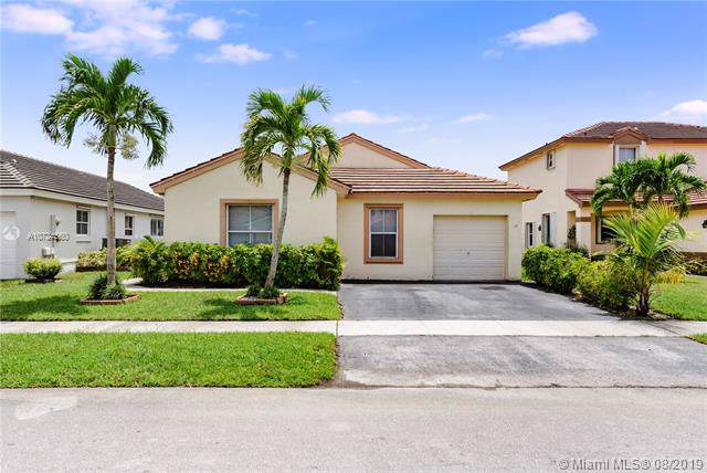 18536 NW 22nd St, Pembroke Pines, FL 33029 (MLS #A10724560) :: Castelli Real Estate Services