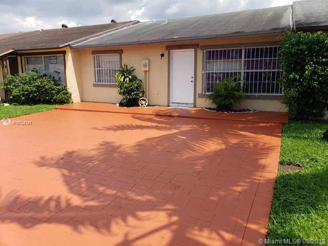 18013 NW 41st Pl #18013, Miami Gardens, FL 33055 (MLS #A10724741) :: GK Realty Group LLC