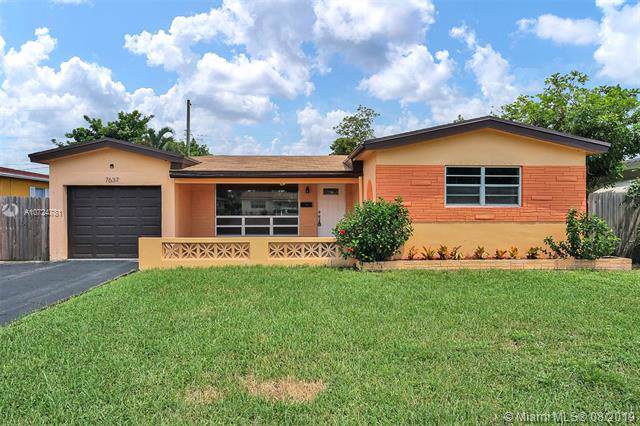 7637 Kismet St, Miramar, FL 33023 (MLS #A10724781) :: RE/MAX Presidential Real Estate Group