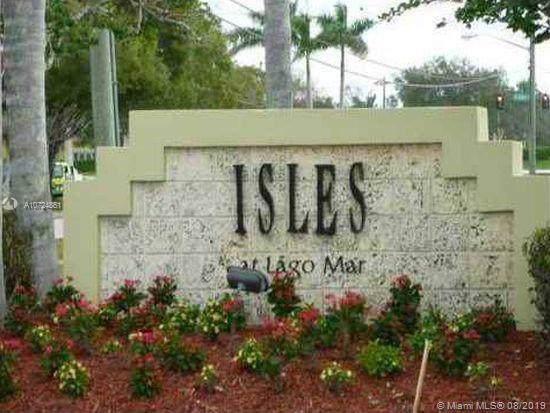 417 Vista Isles Dr #2321, Sunrise, FL 33325 (MLS #A10724861) :: The Paiz Group