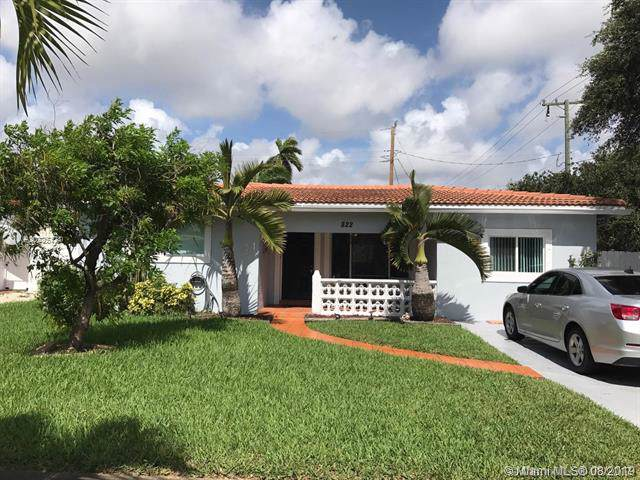 822 N 31st Rd, Hollywood, FL 33021 (MLS #A10725124) :: Castelli Real Estate Services
