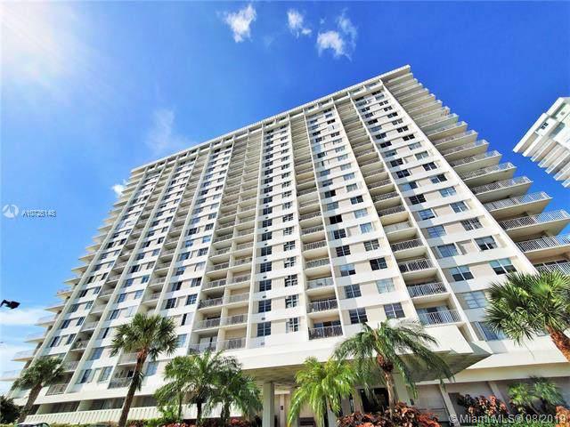 300 Bayview Dr #1614, Sunny Isles Beach, FL 33160 (MLS #A10725148) :: Grove Properties