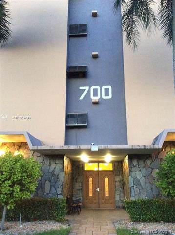 700 NE 14th Ave #202, Hallandale, FL 33009 (MLS #A10725286) :: The Adrian Foley Group