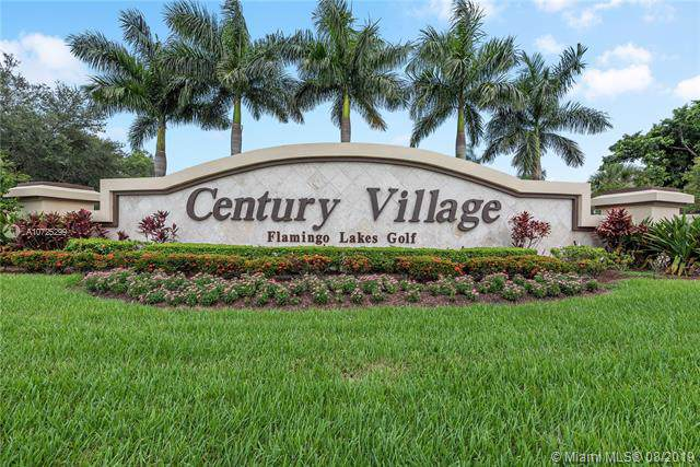 12651 SW 16th Ct 306B, Pembroke Pines, FL 33027 (MLS #A10725299) :: Berkshire Hathaway HomeServices EWM Realty
