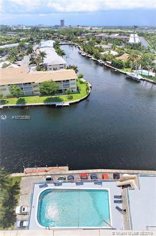437 Golden Isles Dr 14J, Hallandale, FL 33009 (MLS #A10725360) :: The Rose Harris Group