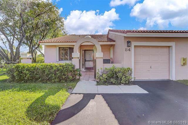 16600 Greens Edge Cir #84, Weston, FL 33326 (MLS #A10725446) :: Berkshire Hathaway HomeServices EWM Realty