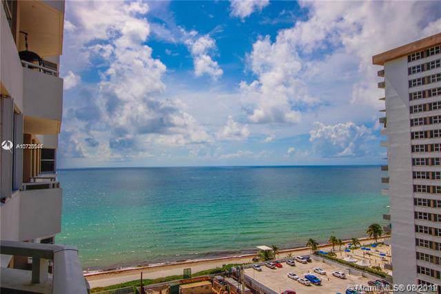 1980 S Ocean Drive 14L, Hallandale, FL 33009 (MLS #A10725544) :: RE/MAX Presidential Real Estate Group