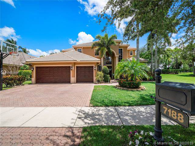 7188 NW 108th Ave, Parkland, FL 33076 (MLS #A10725804) :: Ray De Leon with One Sotheby's International Realty