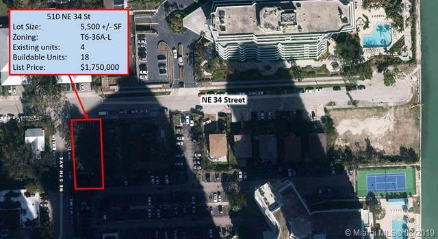 510 NE 34th St, Miami, FL 33137 (MLS #A10726047) :: The TopBrickellRealtor.com Group