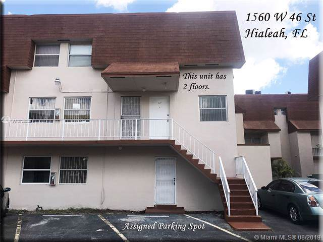 1560 W 46th St #224, Hialeah, FL 33012 (MLS #A10726335) :: The Maria Murdock Group