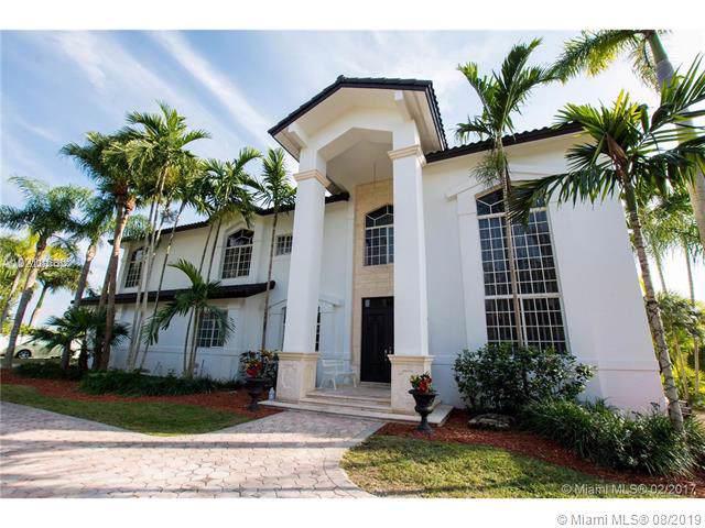 8100 SW 183rd St, Palmetto Bay, FL 33157 (MLS #A10726563) :: The Adrian Foley Group