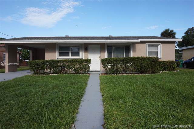 850 NW 33rd Ter, Lauderhill, FL 33311 (MLS #A10726566) :: The Jack Coden Group