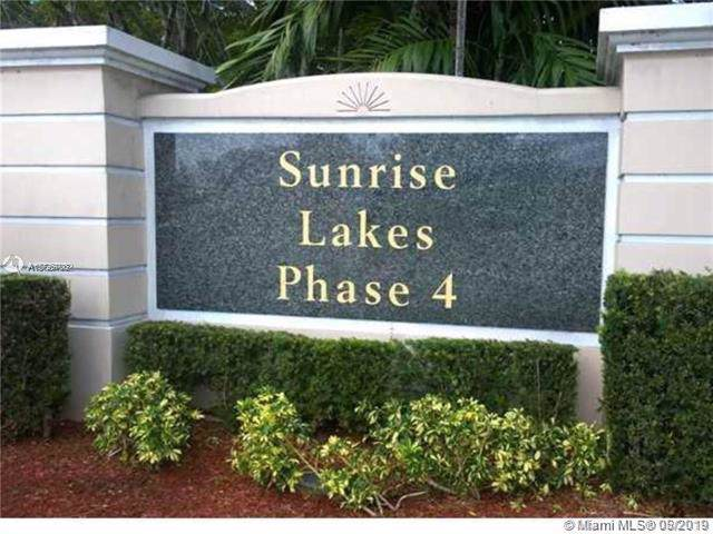10467 Sunrise Lakes Blvd #102, Sunrise, FL 33322 (MLS #A10726703) :: The Teri Arbogast Team at Keller Williams Partners SW