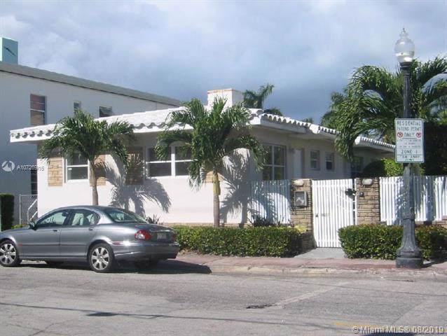 829 W 4th St, Miami Beach, FL 33139 (MLS #A10726916) :: United Realty Group