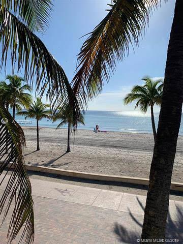 2104 N Surf Rd #1, Hollywood, FL 33019 (MLS #A10727090) :: The TopBrickellRealtor.com Group