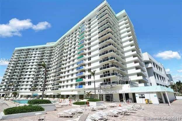 3725 S Ocean Dr #307, Hollywood, FL 33019 (MLS #A10727423) :: Berkshire Hathaway HomeServices EWM Realty