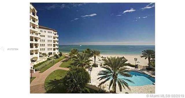 7632 Fisher Island #7632, Fisher Island, FL 33109 (MLS #A10727804) :: The Maria Murdock Group
