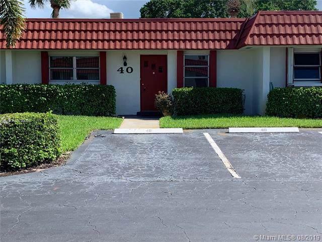 5800 W Fernley Dr W #40, Green Acres, FL 33415 (MLS #A10728057) :: Berkshire Hathaway HomeServices EWM Realty