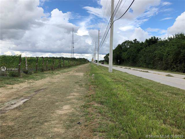 SW 192nd ST SW Tower Rd, Florida City, FL 33034 (MLS #A10728182) :: The Paiz Group