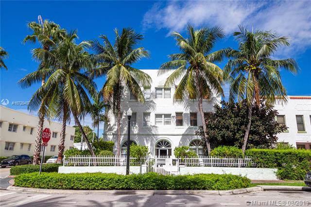 802 Euclid Ave #304, Miami Beach, FL 33139 (MLS #A10728437) :: The Paiz Group