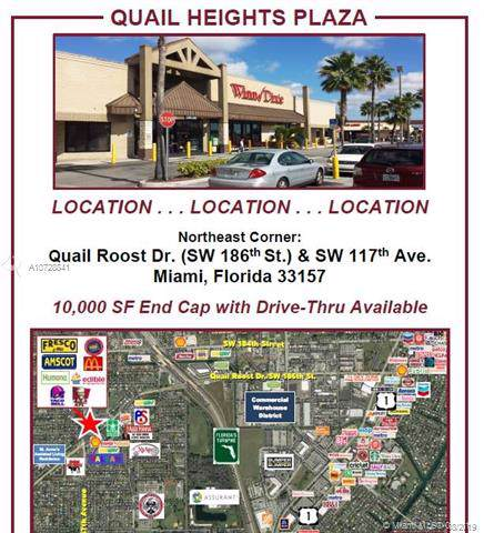 11503 Quail Roost Dr, Miami, FL 33157 (MLS #A10728841) :: The Paiz Group