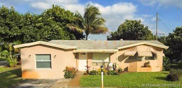 3640 NW 34th Ter, Lauderdale Lakes, FL 33309 (MLS #A10729114) :: Grove Properties