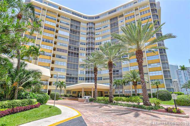 100 Golden Isles Dr #710, Hallandale, FL 33009 (MLS #A10729181) :: United Realty Group