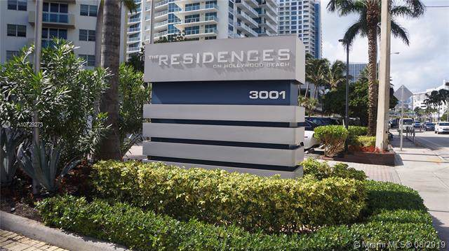 3001 S Ocean Dr #523, Hollywood, FL 33019 (MLS #A10729273) :: The Paiz Group