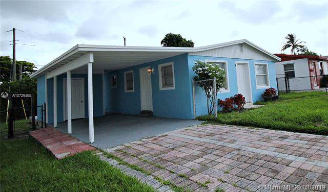 1296 W 36th St, Riviera Beach, FL 33404 (MLS #A10729468) :: Ray De Leon with One Sotheby's International Realty