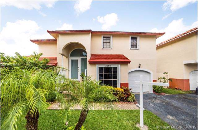 3460 Cluster, Miramar, FL 33025 (MLS #A10729475) :: United Realty Group