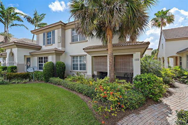 110 Evergrene Pkwy, Palm Beach Gardens, FL 33410 (MLS #A10729570) :: United Realty Group
