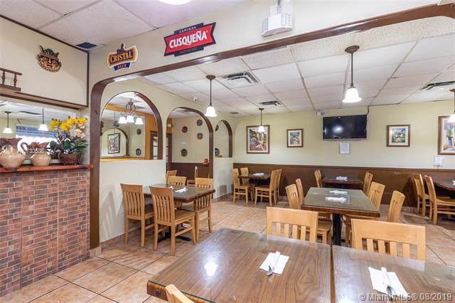 Restaurant Latin Miami Lakes, Miami Lakes, FL 33015 (MLS #A10730588) :: The Jack Coden Group